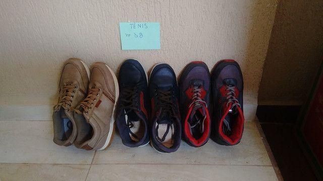 Vendo lote de calçados Masc/ Fem
