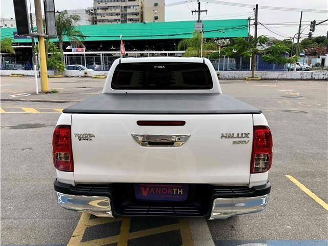 Toyota Hilux 2.7 srv 4x4 cd 16v flex 4p automático - Foto 4