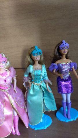 Barbie 3 mosqueteiras( 100 cada) - Foto 3