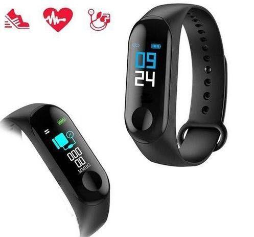 Relógio Inteligente Smartband M3 Monitor Cardíaco Pressão - Foto 5
