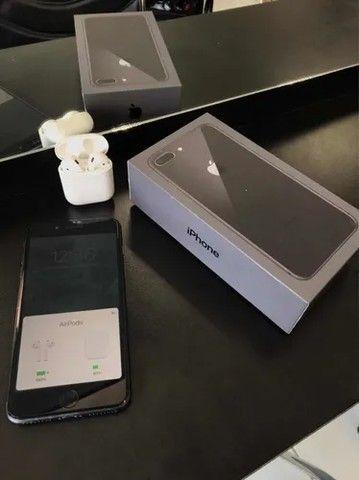 iPhone 8 Plus 64gb Cinza Espacial+ Airdrop