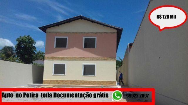 Ve, Potira \ Apartamentos de 02 quartos com a entrada facilitada e documentação grátis