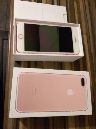 Troco IPhone 7 Plus Rose 256gb em moto