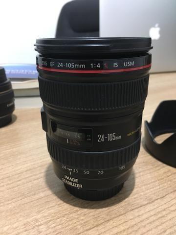 Lente Canon 24-105 mm