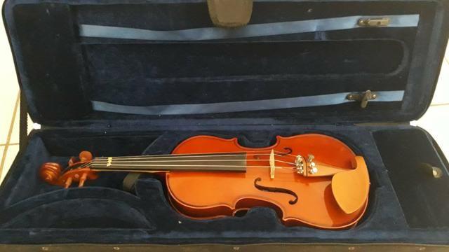 Violino eagle 3/4 novo 300,00