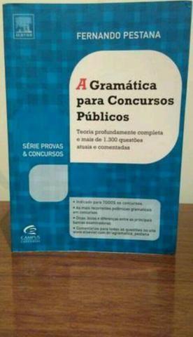 A gramática para concursos públicos - ANÁPOLIS
