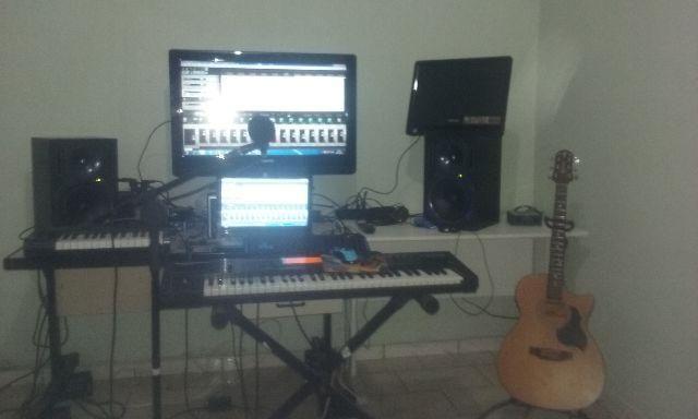 Estúdio de Gravação de cantores