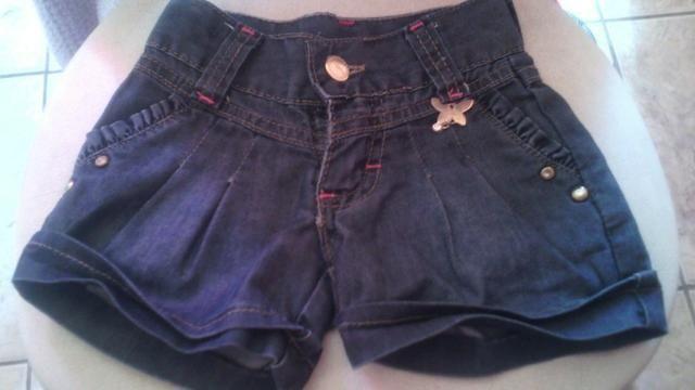 Bermuda Jeans Infantil Feminina
