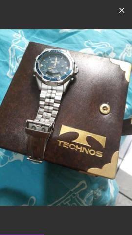 Relógio Techno skydiver defeito