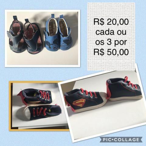 Desapego sapatos bebê - vários modelos e tamanhos