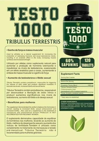 Tribulus Terrestris - Testo 1000