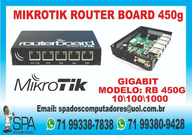 Mikrotik Rb 450G em Salvador Ba