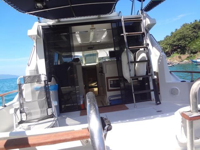 Lancha obra Capri 32 Fly - Barco de represa! Oportunidade única!! - Foto 15