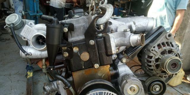 Motor Mwm 04 Cil Sprint 2.8 Turbo Interc.Parcial C/ Bomba Inj Mecânica S10 Blazer Frontier - Foto 2