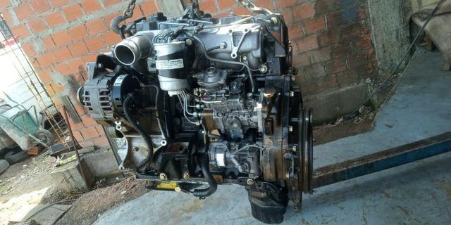 Motor Mwm 04 Cil Sprint 2.8 Turbo Intercooler Parcial S10 Ranger Troller Frontier - Foto 4