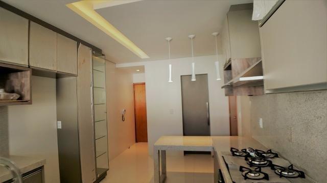 Sobrado 4 Suítes + Escritório, 351 m², semi mobiliado, c/ lazer na 404 Sul - Alto Padrão - Foto 7
