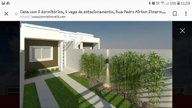 Casa para venda em curitiba, sitio cercado, 2 dormitórios, 1 banheiro, 1 vaga - Foto 4