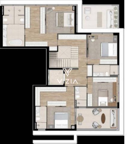 Cobertura com 4 dormitórios à venda, 417 m² por R$ 6.850.788,00 - Cabral - Curitiba/PR - Foto 20
