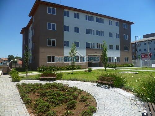 Apartamento à venda com 3 dormitórios em Cidade industrial, Curitiba cod:937