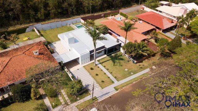 Casa com 3 dormitórios à venda, 306 m² por R$ 2.000.000,00 - Conjunto B - Foz do Iguaçu/PR - Foto 2