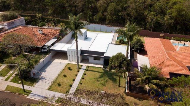 Casa com 3 dormitórios à venda, 306 m² por R$ 2.000.000,00 - Conjunto B - Foz do Iguaçu/PR