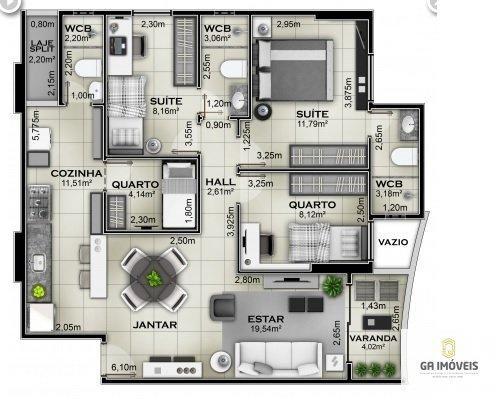 Apartamento à venda, 2 quartos, 2 vagas, Jatiúca - Maceió/AL - Foto 20