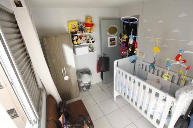 Apartamento com 2 dormitórios à venda, 53 m² por R$ 160.000,00 - Vila Bosque - Maringá/PR - Foto 13