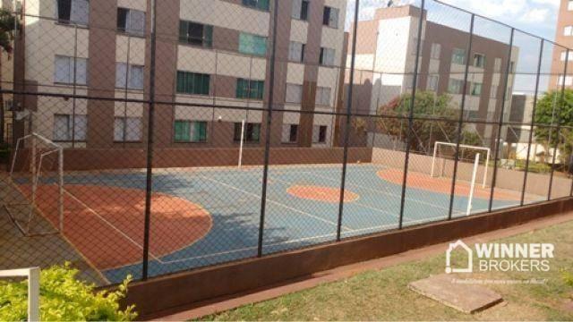 Apartamento com 2 dormitórios à venda, 53 m² por R$ 160.000,00 - Vila Bosque - Maringá/PR - Foto 4