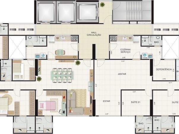 Apartamento MARAVILHOSO à venda no Alto Branco - Campina Grande - Foto 10