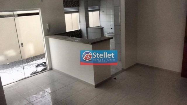 Apartamento com 2 dormitórios à venda, 70 m² por R$ 200.000,00 - Atlântica - Rio das Ostra - Foto 13