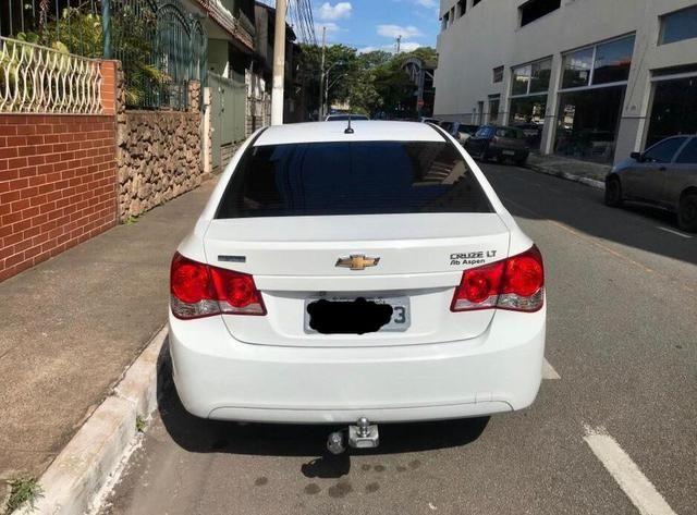 Chevrolet Cruze Sedã 2014 - GNV- IPVA 2020 ok - Automático - Banco em couro - Foto 2