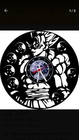 Lindos relógios de parede feito em vinil. - Foto 3
