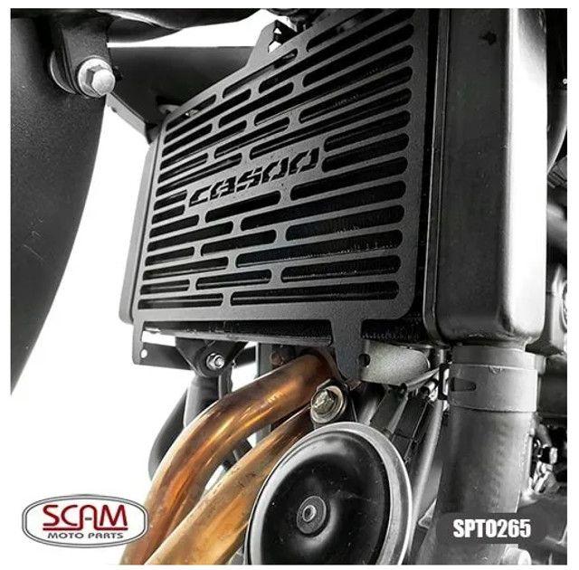 Protetor Radiador Cb 500f / cbr 500r 16/20 - Scam