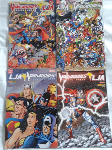 Promoção! - Vendo Coletânea de histórias em quadrinhos da Marvel e DC, edições raras - Foto 5