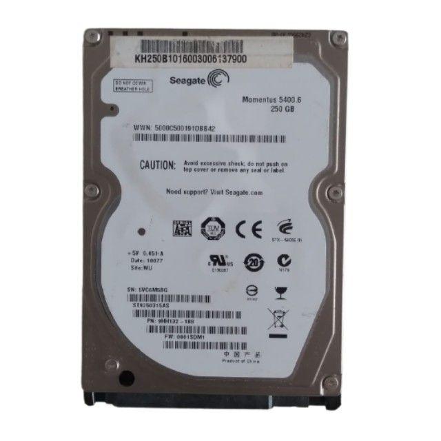 hd Seagate 250 gb para Notebook e Netbook