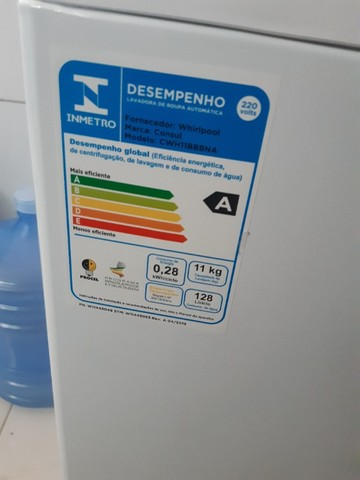 Maquina Lavar Consul Automática 11kg Branca - Foto 3