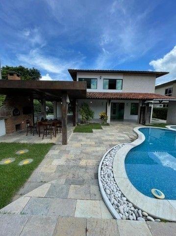 Casa em Aldeia, com  suítes, área de lazer completa, piscina privativa e 5 vagas. - Foto 3