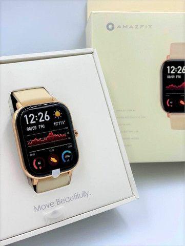 Promoção Dia Das Mãe!! Relógio Smartwatch Xiaomi Amazfit GTS Global GPS À Prova D' Água - Foto 2