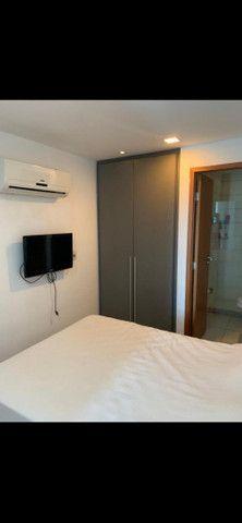 Beach Class Residence: 2 quartos, mobiliado, com lazer na Av. Boa Viagem - Foto 7