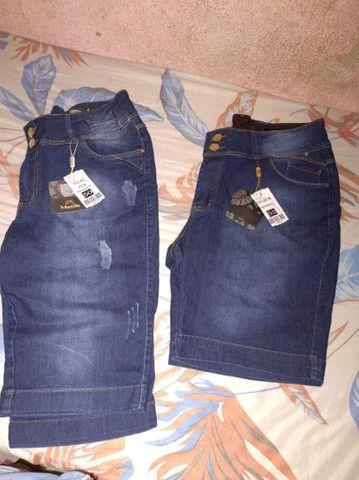 Shorts jeans feminino - Foto 4