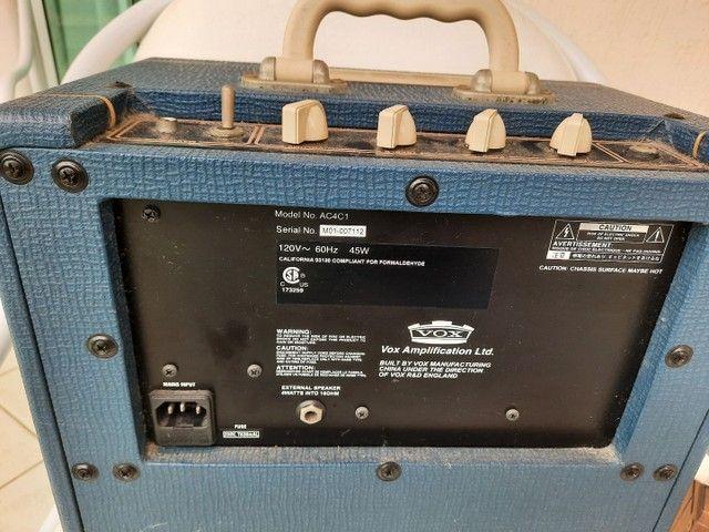Amplificador Vox valvulado AC4C1 Blue - Foto 2