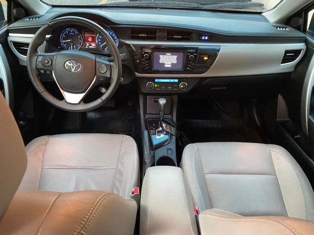 Toyota Corolla XEI Blindado 2017 baixa km! Raridade! - Foto 7