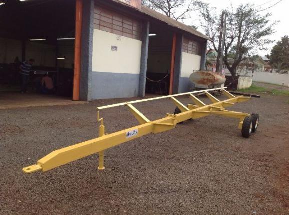 Carreta agrícola transporte de plataforma - Foto 2