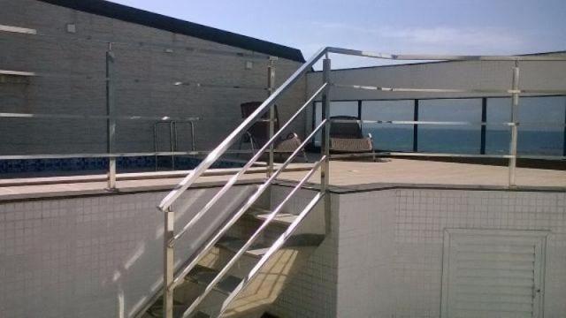Murano Imobiliária vende cobertura de 4 quartos na Praia de Itapoã, Vila Velha - ES. - Foto 13