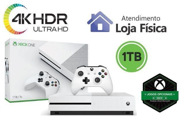 Xbox One S 1TB 4k HDR Opcional 500gb Fifa 18 Forza 3 7 Hot Wheels Battlefield 1 Lego One X