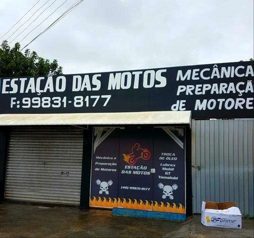 Oficina de motos completa TROCA