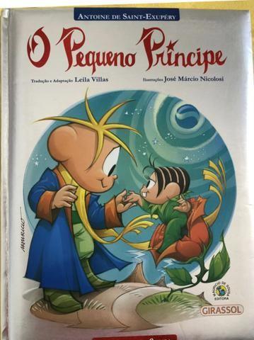 Livro Infantil O Pequeno Príncipe
