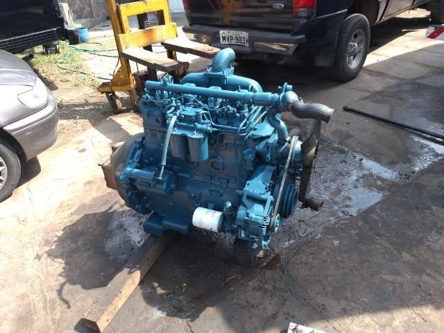 Motor Mwm 04 Cil 229 Aspirado - F100 F1000 F4000 Trator - Foto 3