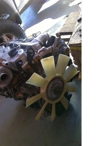 Motor Mwm 04 Cil sprint 2.8 Turbo Interc. Bomba Mec Stander 120 MIl KM rodados originais - Foto 2
