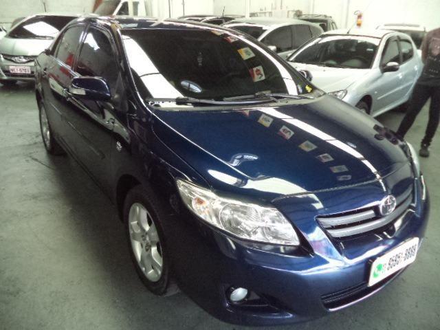 Corolla Xei 2.0 Automatico Flex 2011 Azul Completo Couro Veja!!! - Foto 12